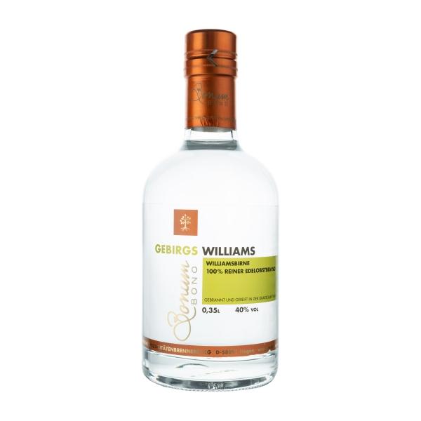 Bonum Bono Gebirgs-Williams 350 ml 40% Vol.