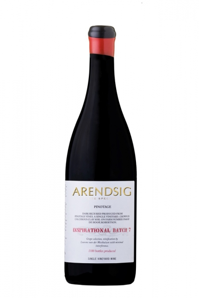 Arendsig Inspirational Pinotage 2017 Batch 7