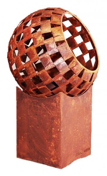 Set Feuerball mittel 63 cm und niedriger Sockel 45 cm